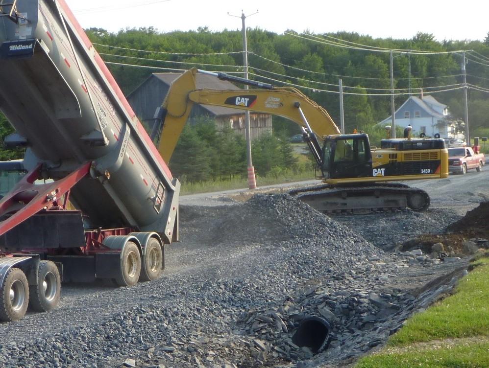 Arpentage de construction routier