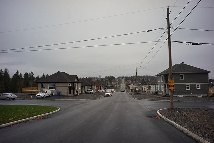 Nouveau quartier à Saint-Georges